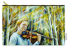 The Melody Of Autumn Carry-all Pouch