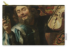 The Merry Fiddler, 1623 Carry-all Pouch