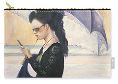 The Message Carry-all Pouch by Marlene Book