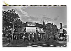 The Middle East In Central Square Cambridge Ma Black And White Carry-all Pouch