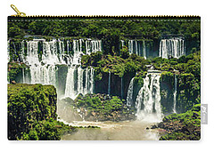 The Mighty Iguazu  Carry-all Pouch by Andrew Matwijec