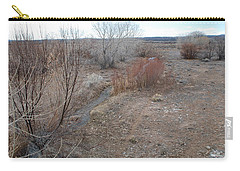 Carry-all Pouch featuring the photograph The Mighty Santa Fe River by Rob Hans