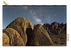The Milky Way And Moonlight Carry-all Pouch