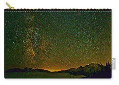 The Milky Way And Mt. Rainier Carry-all Pouch