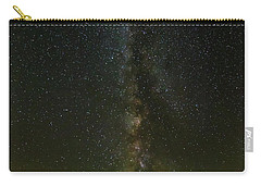 Carry-all Pouch featuring the photograph The Milky Way At Sprague Lake 2 by Tim Stanley