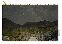 The Milky Way Over Snowdonia, North Wales Carry-all Pouch