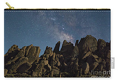 The Milky Way Over The Rocks Carry-all Pouch