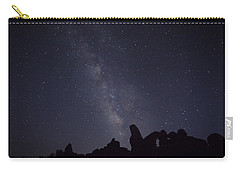 The Milky Way Over Turret Arch Carry-all Pouch