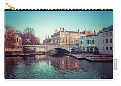 The Millpond Cambridge Carry-all Pouch by David Warrington