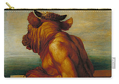 The Minotaur Carry-all Pouch by George Frederic Watts