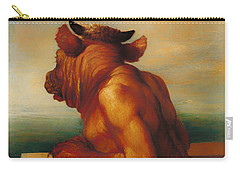 The Minotaur  Carry-all Pouch by Mountain Dreams