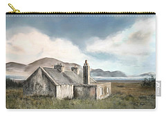 The Mist Of Moorland Carry-all Pouch by Colleen Taylor