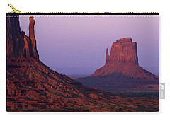Carry-all Pouch featuring the photograph The Mittens by Chad Dutson