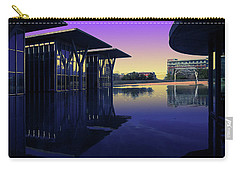 Carry-all Pouch featuring the photograph The Modern, Fort Worth, Tx by Ricardo J Ruiz de Porras