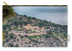 The Monastery Of Archangel Michael, Thasos, Greece Carry-all Pouch by Jivko Nakev