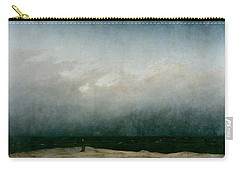 Monk By The Sea  Carry-all Pouch