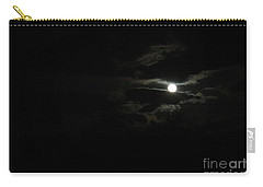 The Moon In Between Carry-all Pouch by Marie Neder