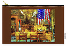 Carry-all Pouch featuring the photograph The Moose by Thom Zehrfeld
