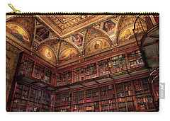 Carry-all Pouch featuring the photograph The Morgan Library by Jessica Jenney