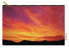 The Morning Sky Ablaze Carry-all Pouch