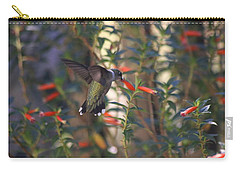 Carry-all Pouch featuring the photograph The Morning Whisper by Living Color Photography Lorraine Lynch