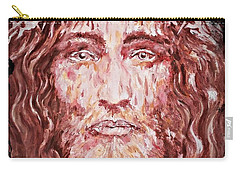 The Most Loved Jesus Christ Carry-all Pouch by AmaS Art