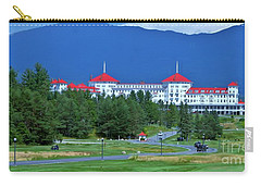 Carry-all Pouch featuring the photograph The Mount Washington Hotel by Barbara S Nickerson