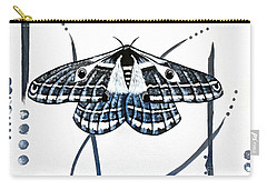 The Multifarious Paths Of The Emperor Moth Carry-all Pouch