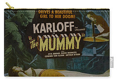 The Mummy 1929 Poster Boris Karloff Carry-all Pouch