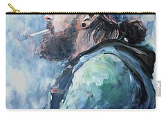 The Music Man Carry-all Pouch by Diane Daigle