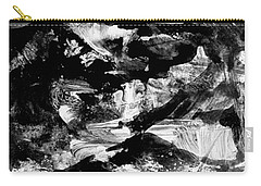 Carry-all Pouch featuring the painting The Mystery Of Mountains by Nancy Kane Chapman