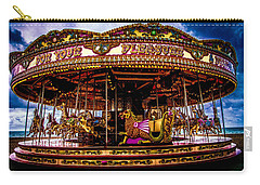 Carry-all Pouch featuring the photograph The Mystical Dragon Chariot by Chris Lord