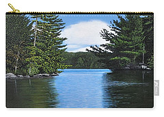 The Narrows Of Muskoka Carry-all Pouch by Kenneth M  Kirsch