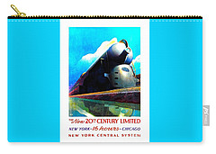 The New 20th Century Limited New York Central System 1939 Leslie Ragan Carry-all Pouch