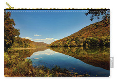 The New River In Autumn Carry-all Pouch by L O C