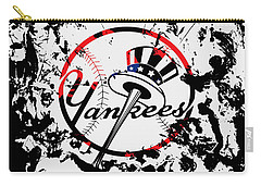The New York Yankees 1b Carry-all Pouch by Brian Reaves