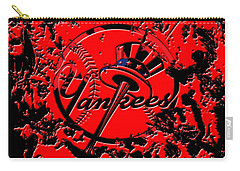 The New York Yankees B1 Carry-all Pouch by Brian Reaves