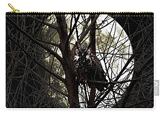 The Night Owl And Harvest Moon Carry-all Pouch