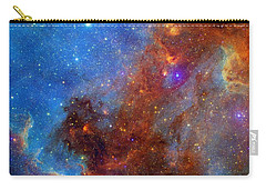 Carry-all Pouch featuring the photograph The North America Nebula In Different Lights by NASA JPL - Caltech