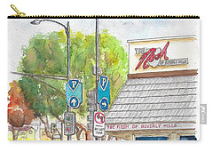 The Nosh Of Beverly Hills, Little Santa Monica And Roxbury, Beverly Hills, California Carry-all Pouch