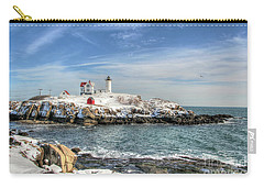 The Nubble Light Carry-all Pouch by Adrian LaRoque