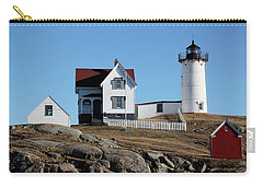 The Nubble Light House  Carry-all Pouch