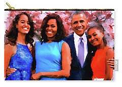 The Obama Family Carry-all Pouch