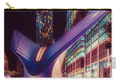 Carry-all Pouch featuring the photograph The Occulus At Midnight by Chris Lord