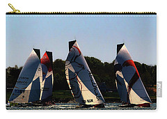 Carry-all Pouch featuring the photograph The Ocean Race by Tom Prendergast