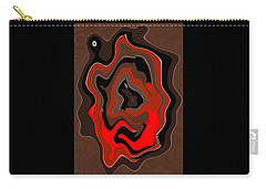 Original Contemporary Painting The Odyssey Carry-all Pouch