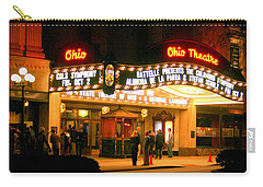 The Ohio Theater At Night Carry-all Pouch