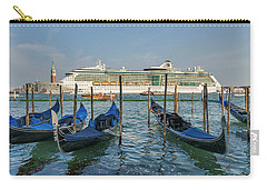The Old And The New In Venice Carry-all Pouch