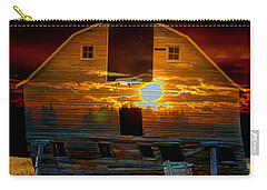 The Old Barn Carry-all Pouch by Stuart Turnbull
