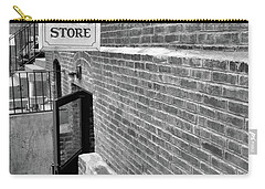 Carry-all Pouch featuring the photograph The Old Book Store by Karol Livote